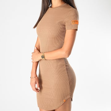 Project X - Robe Femme F207041 Camel