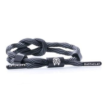 Rastaclat - Bracelet Activate Gris Noir