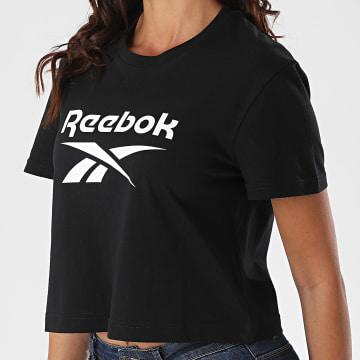 Reebok - Tee Shirt Femme Big Logo FT8176 Noir