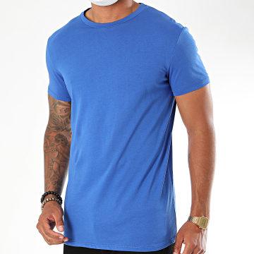 Uniplay - Tee Shirt Oversize UY496 Bleu Roi