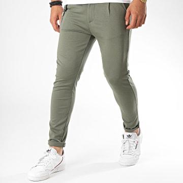 Uniplay - Pantalon Chino PU904 Vert Kaki