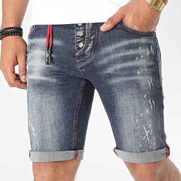 Uniplay - Short Jean 332 Bleu Denim
