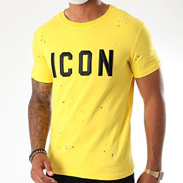 Uniplay - Tee Shirt THL-8 Jaune