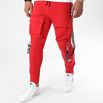 Uniplay - Pantalon Jogging 7074 Rouge