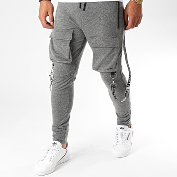 Uniplay - Pantalon Jogging 7074 Gris Chiné