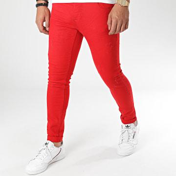 Uniplay - Jean Skinny 339-2 Rouge