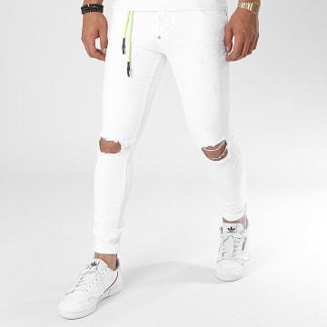 Uniplay - Jean Skinny Destroy 165-1 Blanc
