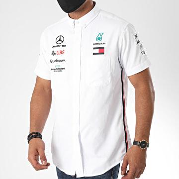 AMG Mercedes - Polo Manches Courtes 141191035 Blanc