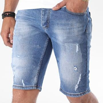 Classic Series - Short Jean Slim 3085 Bleu Denim