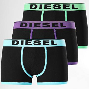 Diesel - Lot de 3 Boxers Damien A00897-0JKKC Noir