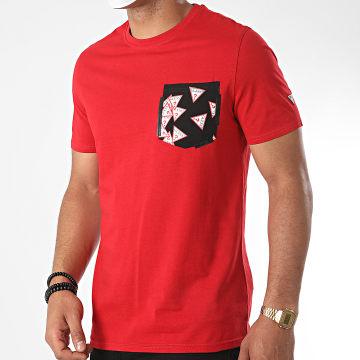 Guess - Tee Shirt Poche M0YI59-I3Z11 Rouge