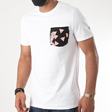 Guess - Tee Shirt Poche M0YI59-I3Z11 Blanc