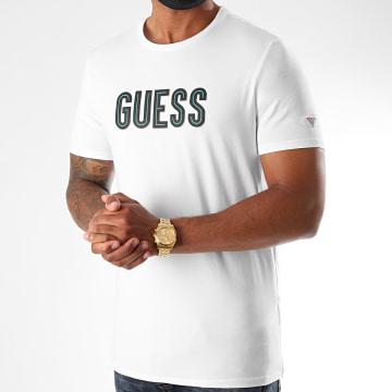 Guess - Tee Shirt MM0YI9A-J1300 Blanc