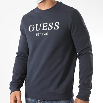 Guess - Sweat Crewneck M0YQ31-K7ON0 Bleu Marine