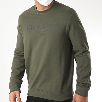Guess - Sweat Crewneck M0YQ31-K7ON0 Vert Kaki