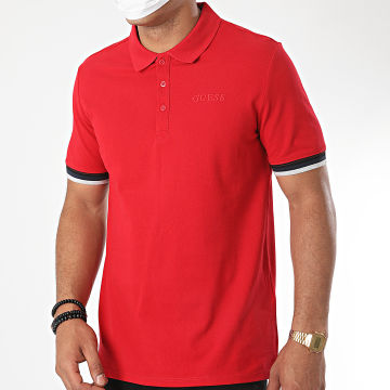 Guess - Polo Manches Courtes M0YP51-K9WF1 Rouge