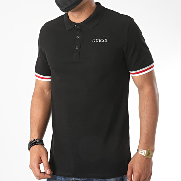 Guess - Polo Manches Courtes MM0YP51-K9WF1 Noir