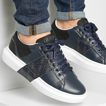 Guess - Baskets FM7SAIFAL12 Blue Grey