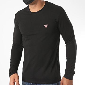 Guess - Tee Shirt Manches Longues M0YI28-J1300 Noir