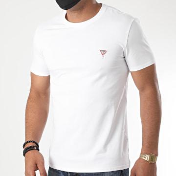 Guess - Tee Shirt M0YI24-J1300 Blanc