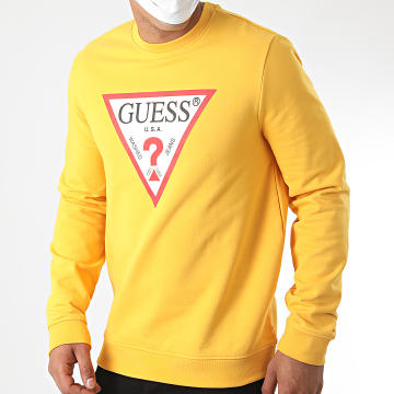 Guess - Sweat Crewneck M0YQ31-K7ON0 Jaune Moutarde