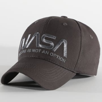 NASA - Casquette Not An Option Gris Anthracite
