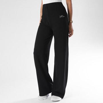 Sixth June - Pantalon Ample Femme W4290KPA Noir