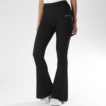 Sixth June - Pantalon Evasé Femme W3728KPA Noir