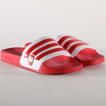 Adidas Originals - Claquettes Adilette Shower Arsenal EG1212 Rouge