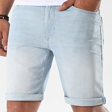 Blend - Short Jean Twister 20710444 Bleu Denim