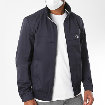 Calvin Klein - Veste Zippée Harrington 5672 Bleu Marine