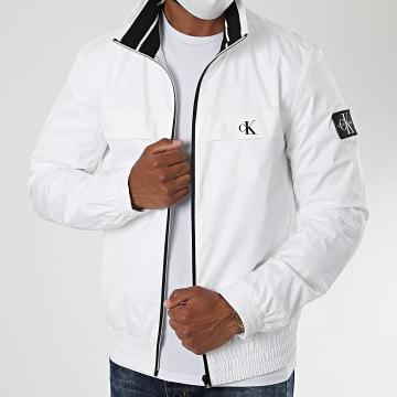 Calvin Klein - Veste Zippée Harrington 5672 Blanc