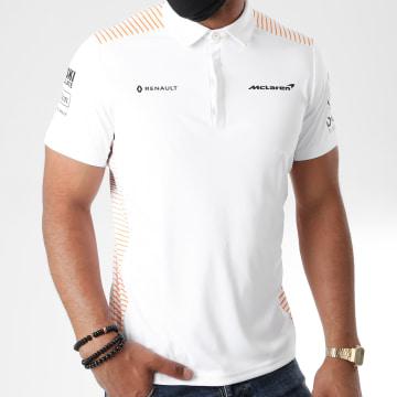 F1 et Motorsport - Polo Manches Courtes 334801034 Blanc