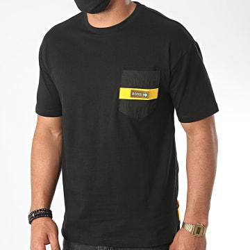 KZR - Tee Shirt Poche MK-18185 Noir