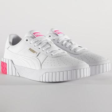 Puma - Baskets Femme Cali 373155 Puma White Omphalodes