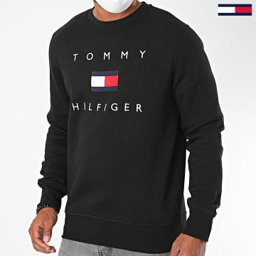 Tommy Hilfiger - Sweat Crewneck Tommy Flag 4204 Noir