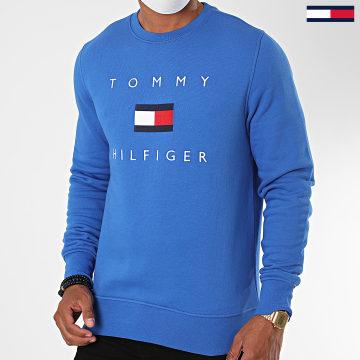 Tommy Hilfiger - Sweat Crewneck Tommy Flag 4204 Bleu Roi