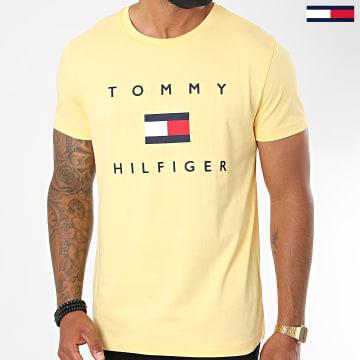 Tommy Hilfiger - Tee Shirt Tommy Flag 4313 Jaune