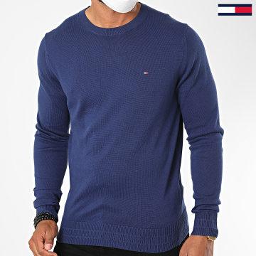 Tommy Hilfiger - Pull Luxury Pima Cotton 4415 Bleu Marine