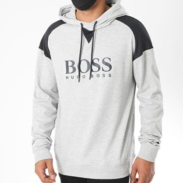BOSS - Sweat Capuche Contemporary 50431116 Gris Chiné