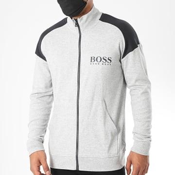 BOSS by Hugo Boss - Veste Zippée Contemporary 50431122 Gris Chiné
