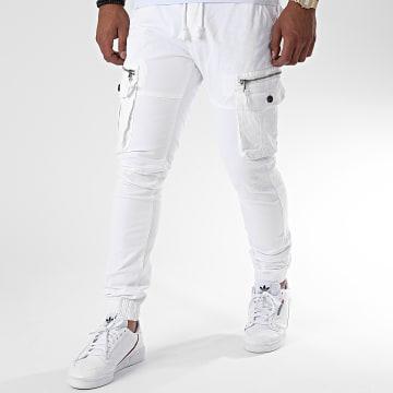 John H - Jogger Pant XQ01 Blanc