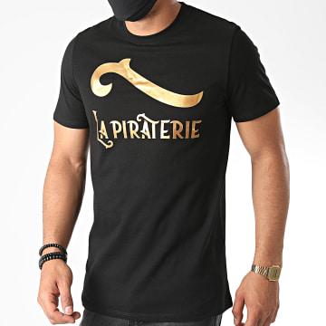 La Piraterie - Tee Shirt Outlaw Noir Doré