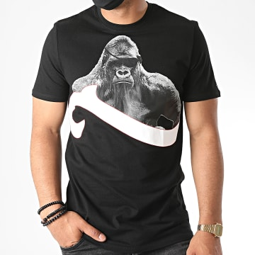 La Piraterie - Tee Shirt Silver Back Noir