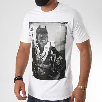 La Piraterie - Tee Shirt Pitbull Blanc