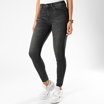Only - Jean Skinny Femme New Nikki Gris Anthracite