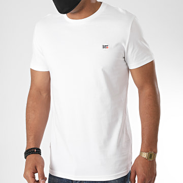 Superdry - Tee Shirt Collective M1010092A Blanc