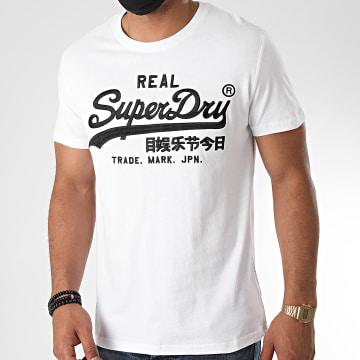 Superdry - Tee Shirt VL Mono Embroidery M1010303 Blanc