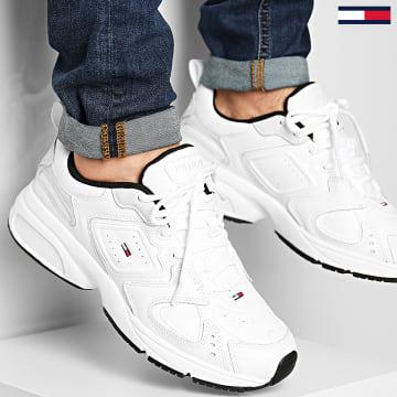 Tommy Jeans - Baskets Heritage Tommy Jeans Sneaker EM0EM00491 White