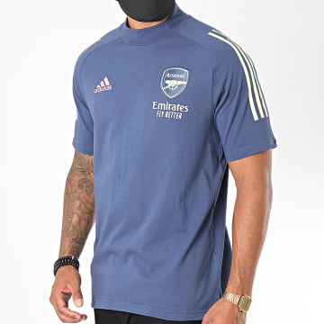 Adidas Performance - Tee Shirt A Bandes Arsenal FC FQ6140 Bleu